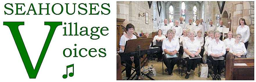 Logo and Seahouses Village Voices